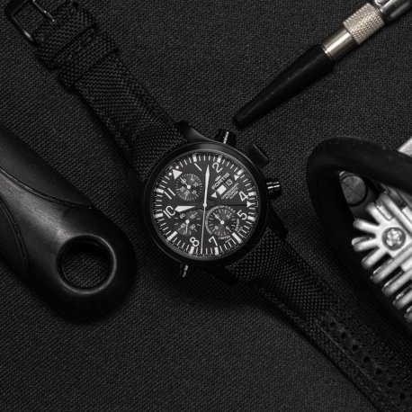 LIMITED TO 500 PIECES AEROMASTER PROFESSIONAL ALARM CHRONOGRAPH