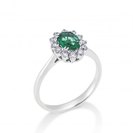 RING WITH EMERALD