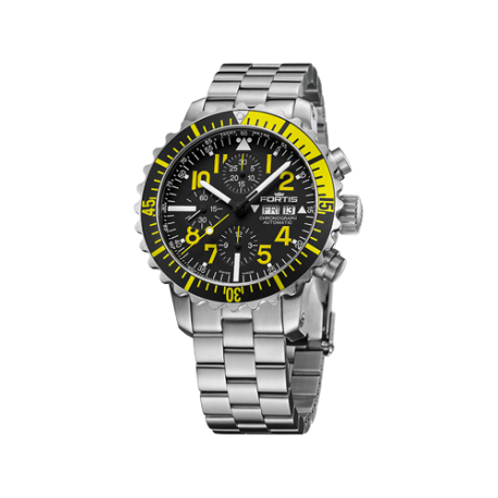 MARINEMASTER YELLOW CHRONOGRAPH