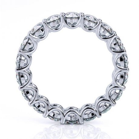 WEDDING RING WITH DIAMONDS K18