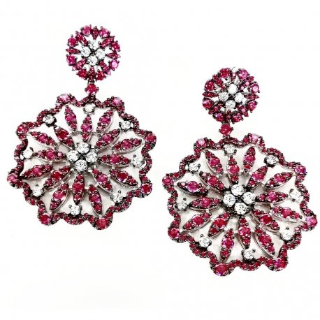Earrings flower